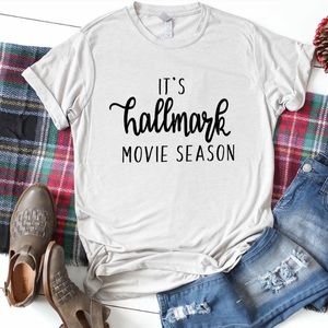 🖤🎄Hallmark Movie Season Tshirt ❣️